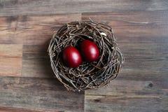 复活节彩蛋嵌套 免版税库存照片