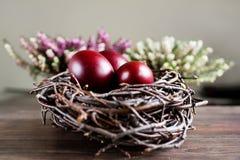 复活节彩蛋嵌套 免版税图库摄影