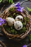复活节彩蛋嵌套 库存照片