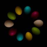复活节彩蛋庆祝,颜色,装饰,设计,小组,假日,对象,五颜六色 图库摄影