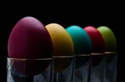 复活节彩蛋庆祝,颜色,装饰,设计,小组,假日,对象,五颜六色 免版税图库摄影