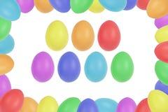 复活节彩蛋框架 免版税库存图片