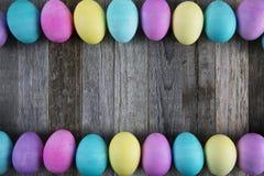 复活节彩蛋框架 免版税图库摄影