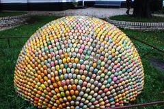 复活节彩蛋的构成 库存照片