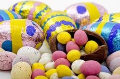 复活节彩蛋的选择 免版税库存照片