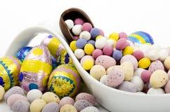 复活节彩蛋的选择 库存图片