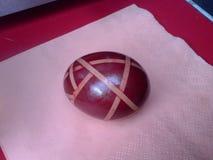 复活节彩蛋篮子 库存照片