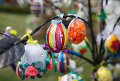 复活节彩蛋节日  库存图片