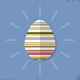 复活节彩蛋设计元素 免版税库存照片