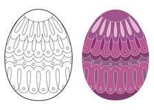 复活节彩蛋设计 库存图片