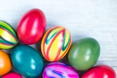 复活节彩蛋绘了 库存图片