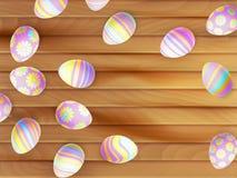 复活节彩蛋绘了 10 eps 免版税图库摄影