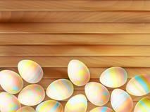 复活节彩蛋绘了 10 eps 库存照片