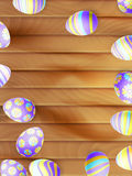 复活节彩蛋绘了 10 eps 图库摄影