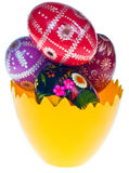 复活节彩蛋 免版税图库摄影
