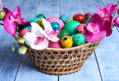 复活节彩蛋 库存图片
