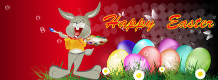 复活节快乐。 免版税库存图片