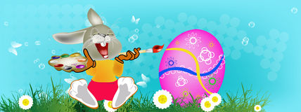 复活节快乐。 库存照片