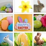 复活节快乐的综合图象 免版税库存照片