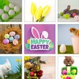 复活节快乐的综合图象 库存照片