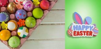 复活节快乐的综合图象 免版税库存图片