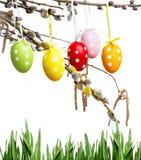复活节快乐-静物画 免版税库存图片