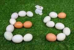 复活节彩蛋简称 免版税库存图片