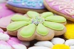 复活节曲奇饼 免版税库存照片
