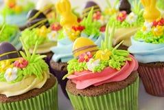 复活节杯形蛋糕 图库摄影