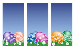 复活节横幅 库存图片