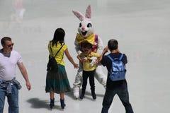 2017年复活节游行 免版税库存照片