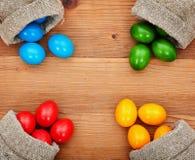 复活节的春天颜色 库存照片