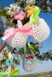 复活节的篮子 库存照片