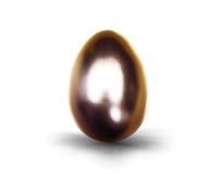 复活节的金黄鸡蛋 库存图片