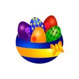 复活节的鸡蛋 图库摄影