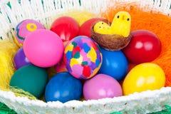 复活节的鸡蛋 免版税库存图片