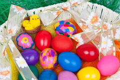 复活节的鸡蛋 库存图片