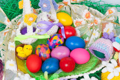 复活节的鸡蛋 免版税库存照片