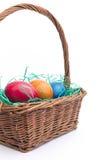 复活节篮子 库存照片