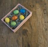 复活节篮子6 库存图片