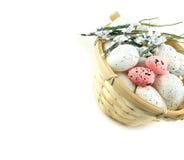 复活节篮子III 免版税图库摄影