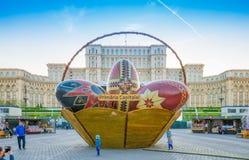 复活节罗马尼亚 库存照片