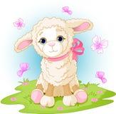 复活节羊羔 免版税库存图片