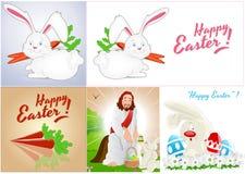 复活节背景传染媒介 免版税库存照片