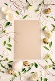 复活节花卉背景 免版税库存图片