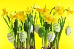 复活节花束 免版税库存图片