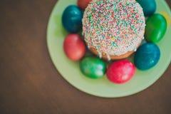 复活节蛋糕 免版税图库摄影