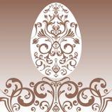 复活节装饰品鸡蛋 库存图片