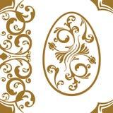 复活节装饰品鸡蛋 图库摄影