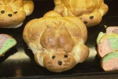 复活节面包 免版税库存图片